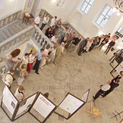 Žarko Petrovič - Otvoritev razstave o izumitelju Janezu Puharju, diploma