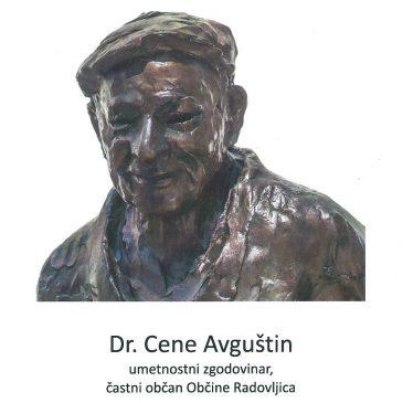 Odkritje kipa umetnostnega zgodovinarja dr. Ceneta Avguština