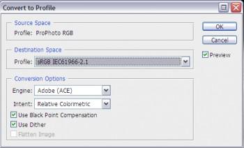 Obdelava fotografij in pravilna uporaba barvnega prostora