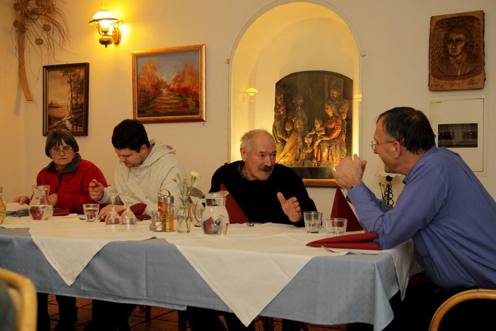 Pogovor novega predsednika Justina Zorka s predsednikom FD Jesenice Bogdanom Bricljem