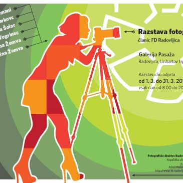 """Fotografska razstava"" članic Fotografskega društva Radovljica"