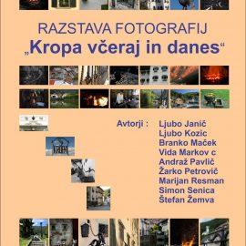 Fotografska razstava – Kropa včeraj in danes