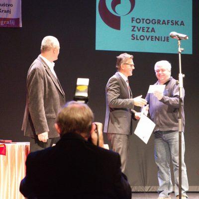 Tomaž Velechovsky - dobitnik najvišjega razstavljalskega naslova FZS, MF FZS