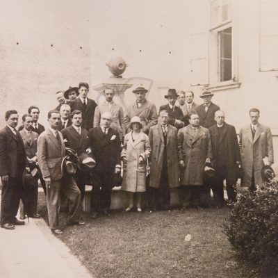Srečanje ljubljanskega, zagrebškega in beograjskega centra PEN leta 1929 v Ljubljani