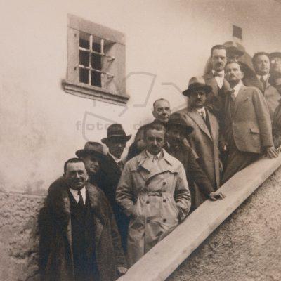 Srečanje ljubljanskega, zagrebškega in beograjskega centra PEN leta 1929 – izlet v Vrbo