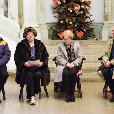 iz leve proti desni: 1. Samo Kristan (NUK);  2: Alenka Bole Vrabec; 3. Bogomila Kravos (PEN); 4. Edvard Kovač (PEN)