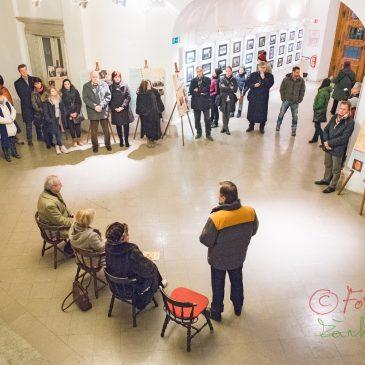 """Otvoritev foto razstave """"Svoboda besede"""" ob 90 letnici Slovenskega centra PEN"""