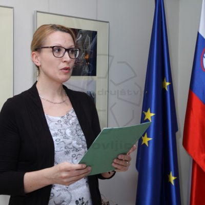 Moderatorka Monika Sluga