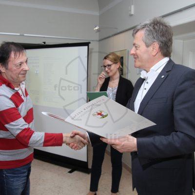 """Diploma za """"dogodke"""" - Žarko Petrovič"""