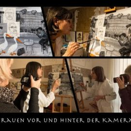 """Fotografska razstava """"Ženske pred in za kamero"""" v Gradcu"""