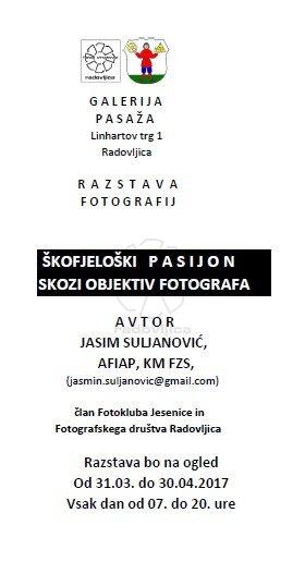 Škofjeloški pasijon skozi objektiv fotografa, fotografska razstava