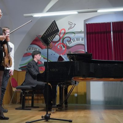 Anja Šoštarič in Matjaž Zobec