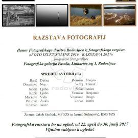 """Soline 2016"", fotografska razstava"