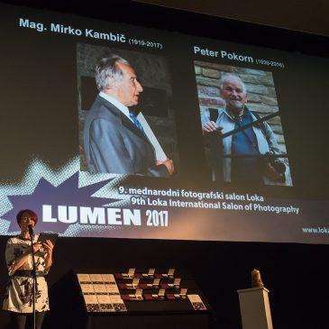 """Nagrade na 9. mednarodnem fotografskem salonu Loka –  """"Lumen 2017"""" podeljene"""