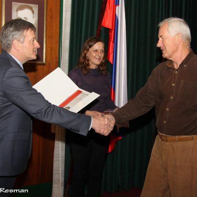 Suljanović Jasim – diploma (»dogodki«) / Prihod ovc z Begunjščice / Na poti