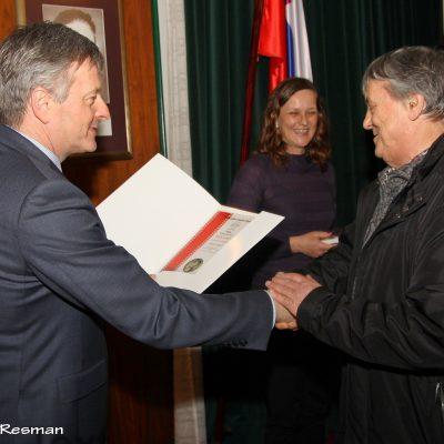 Kozic Ljubo – diploma (»dogodki«) / Kostanjev tek v Vrbnjah / Mladi tekači