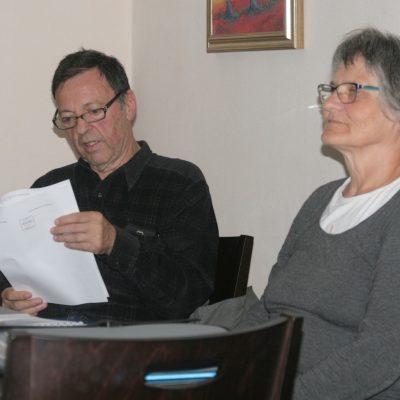 Delovni predsednik, Žarko Petrovič in sklicateljica IOZ FDR, Vida Markovc