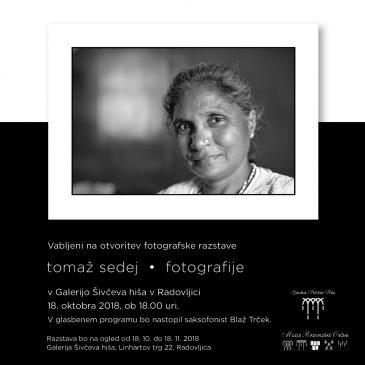 Tomaž Sedej – razstava črno belih fotografij v Galeriji Šivčeva hiša