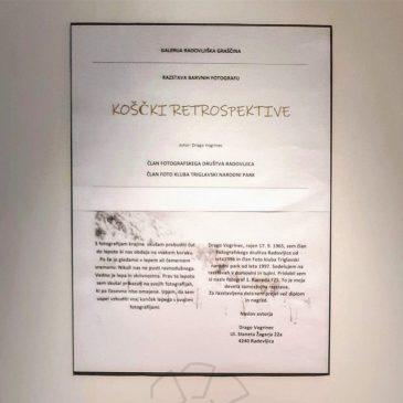 "Razstava barvnih fotografij Draga Vogrinca ""Koščki retrospektive"""