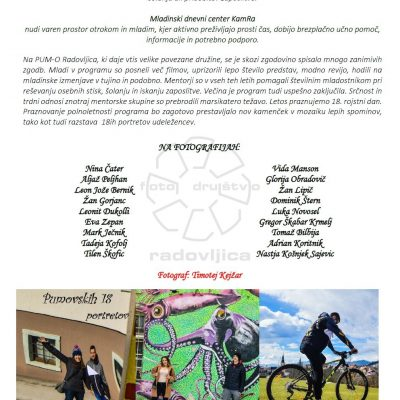 Plakat razstave PUM-O