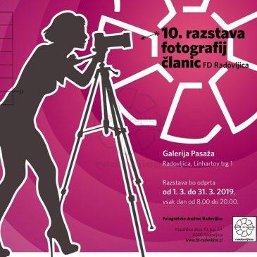10. razstava fotografij članic