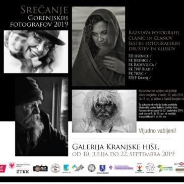 Razstava in srečanje Gorenjskih fotografov 2019