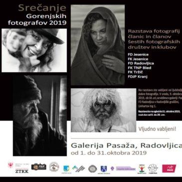"""Fotografska razstava """"Gorenjskih fotografov"""" 2019"""