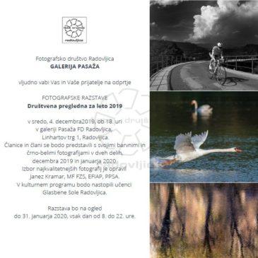 Odprtje Društvene pregledne razstave 2019