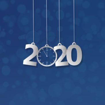 Srečno in ustvarjalnosti polno Novo leto 2020
