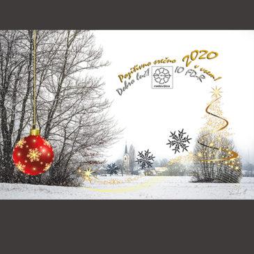 Vesel Božič in SREČNO 2020!