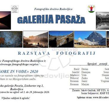 Fotografska razstava z izleta po Julijskih Alpah