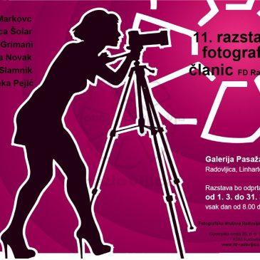 11. razstava fotografij članic FD Radovljica