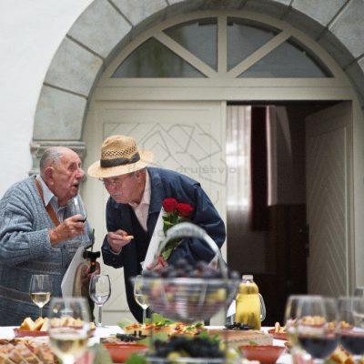 A. Fink in I. Pipan Foto Žarko Petrovič