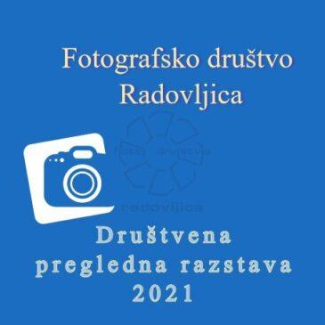 Društvena pregledna fotografska razstava 2021